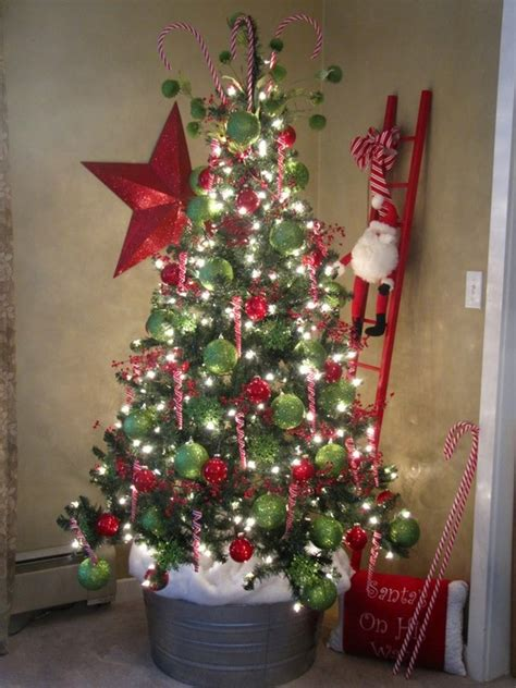 christmas tree in a bucket christmas trees pinterest