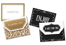 enclosure cards gift card holders gift certificates nashville wraps