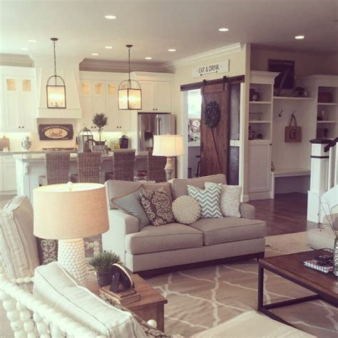open floor plan living room decorating ideas best 25 farm style open plan kitchens ideas on pinterest