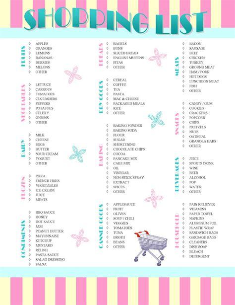 printable shopping list uk it s so splendid free printable shopping list