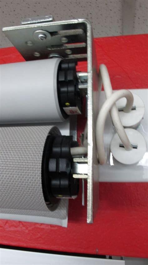 Bracket Box Vixion New Shadis Breket mechoshade dual shade bracket motor end with standard 3 prong receptacle motorized window