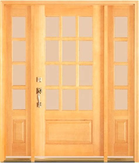 12 Lite Exterior Door Dmc77 Unfinished 12 Lite Entry Doors Sidelights Transom