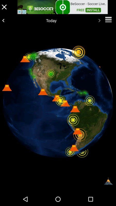 quake 3 apk quake volcano 3d globe map v 1 0 9 apk from apkask android apps