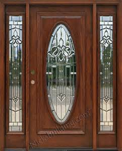 Oval Glass Front Entry Door Model 600 Entry Door With Oval Glass Majsestic Design