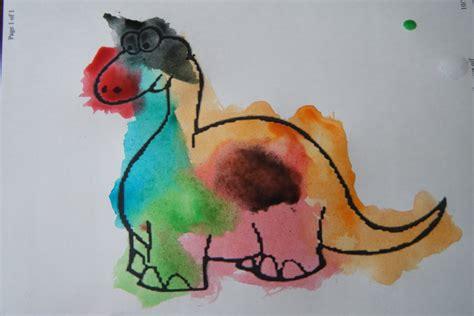 painting dinosaurs smarty preschool painting dinosaurs