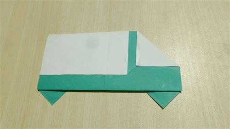 Origami L - comment faire camion origami l de plier le papier