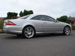 Mercedes Cl600 Coupe 2002 Mercedes Cl600 2 Door Coupe 96254