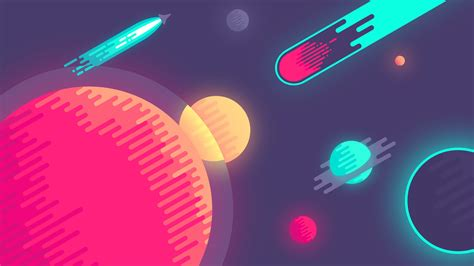 planets  space minimal wallpapers hd wallpapers id