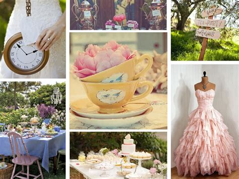 your wedding support get the look tea themed wedding