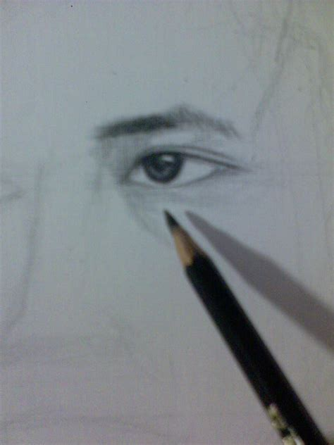 tutorial menggambar menggunakan pensil cara menggambar mata untuk lukisan pensil aqlam 20