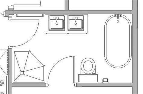 bathroom floor plans for small spaces personalized modern bathroom design created by ergonomic