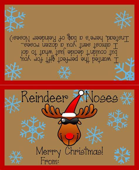free printable reindeer noses poem pin by kathleen anderson on christmas pinterest