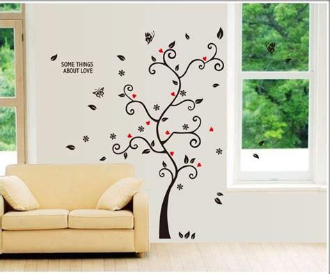 living room tree photo frames wall decal sticker wackydot diy family photo frame tree wall sticker home decor living