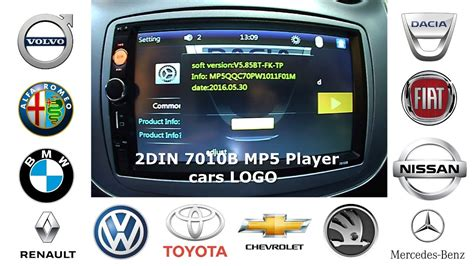 kemetot chomel tutorial auto youtube player 2din stereo 7010b mp5 player tutorial vehicle logo youtube