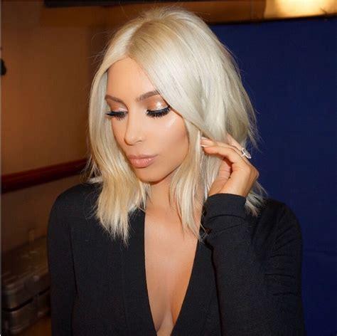 kimkardashian platnium blonde hair formula loren s world loren s world latest beauty trends