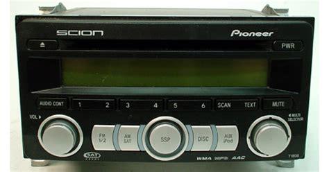 2008 scion tc factory pioneer radio cd player r 815