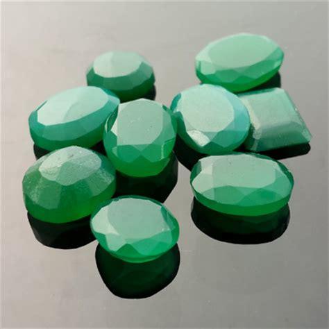 Chroom Chalcedony bespoke gems handcut designer gemstones precious