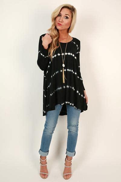 New Tiramisu Top Tunik Blouse T1310 3 tiramisu for two tie dye top in black impressions s clothing boutique