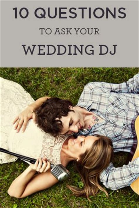 what to ask wedding dj 10 questions to ask a wedding dj wedding hair color and