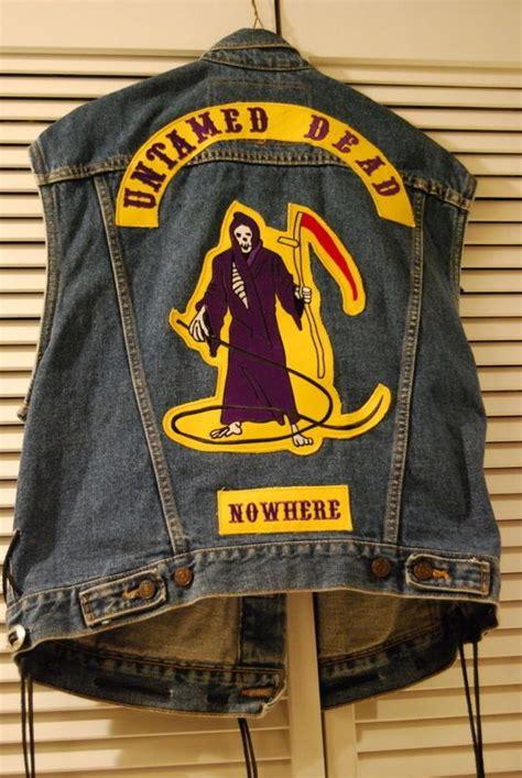 Motorradclub Color by Biker Club Outlaw Colors Untamed Dead Set