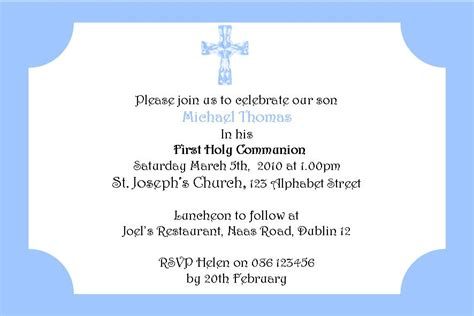 1st communion invitation templates communion invitations quotes