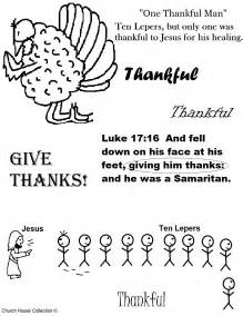thanksgiving quot one thankful leper quot sunday lesson