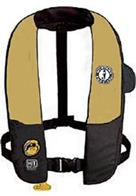 Mustang Auto Hydrostatic Inflatable Pfd Md3183 by Pfd Accessories Sportco Warehouse Sporting Goods