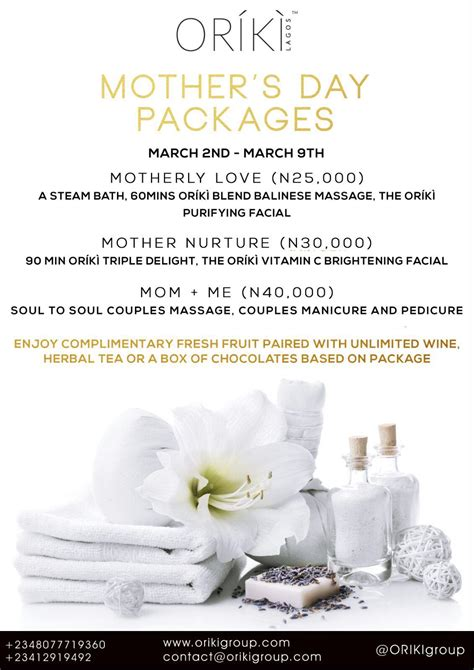 or 205 k 204 spa s day packages per your the way