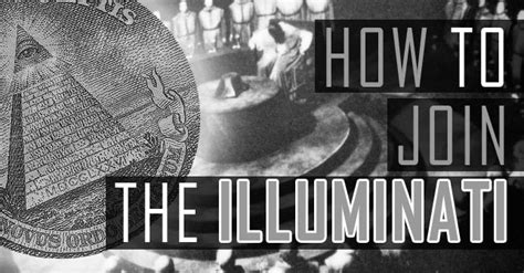 what is the illuminati how to join the illuminati