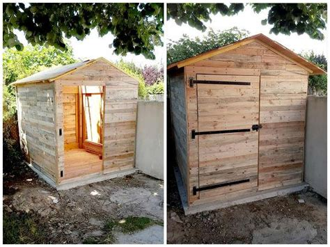 Diy Sofa Bed Plans Make Your Own Pallet Shed Or Cabin