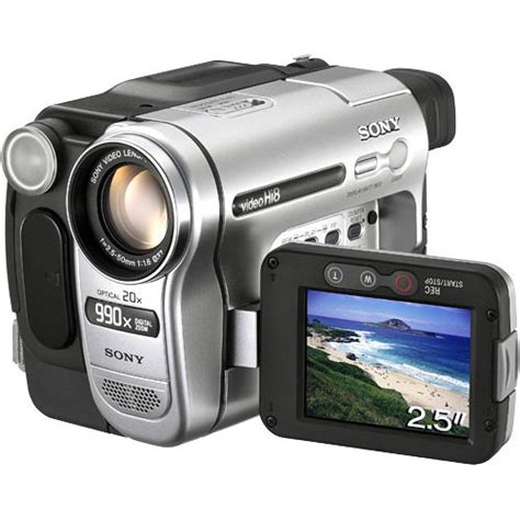 Handycam And sony ccd trv138 hi 8 handycam camcorder ccdtrv138 b h photo
