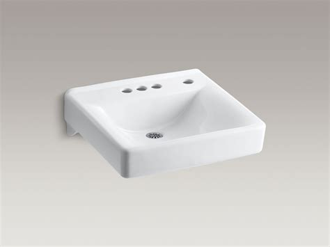 commercial bathroom sink faucet standard plumbing supply product kohler k 2054 nr 0