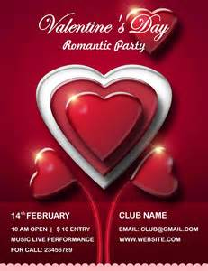Valentines Day Templates by S Day Flyer Psd Templates Free All