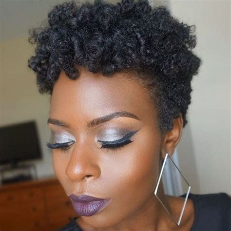 natural hairstyles for full faced women 50 most captivating african american short hairstyles and