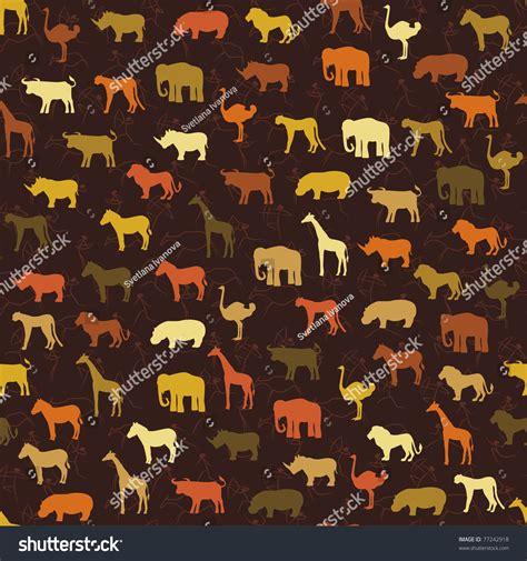 svg pattern safari safari pattern background stock vector 77242918 shutterstock