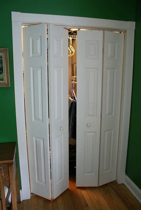 open closet door converting a bi fold door bi fold doors small closets and bedroom closets