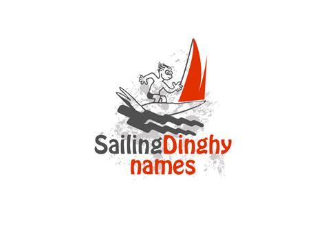 boat and dinghy names logo for sailing dinghy names au 110designs