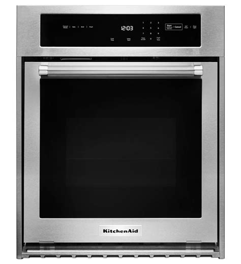Kitchen Aid Oven by Kitchenaid 174 24 Quot Single Wall Oven With True Convection