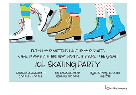 skating invitations templates skating invitations theruntime
