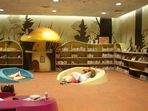 amazing interior design from moomin books kids corner children s library central public library singapore