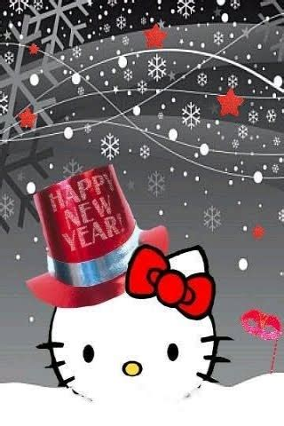 wallpaper pick  kitty merry christmas  happy  year wallpaper  iphone