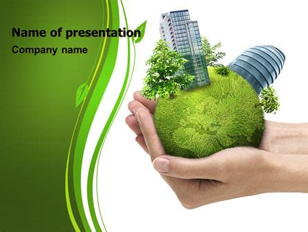 Green Habitat Presentation Template For Powerpoint And Biodiversity Ppt Template Free
