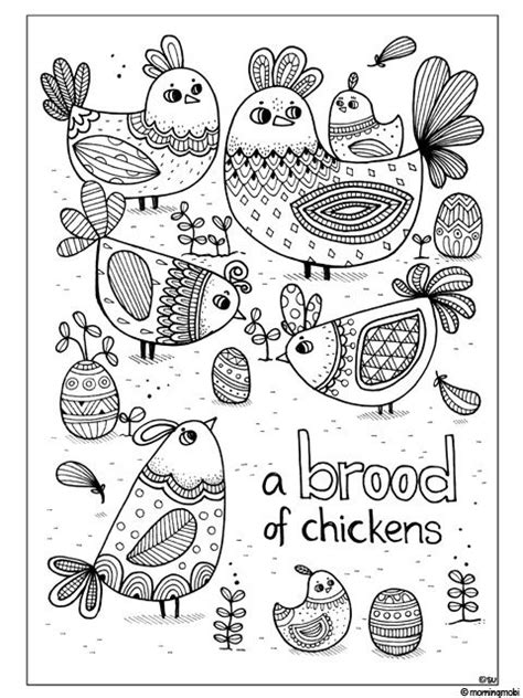 doodle ilham animals with pattern colouring book with giveaway