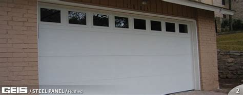 Flush Panel Steel Panel Geis Garage Doors Milwaukee Flush Panel Garage Doors