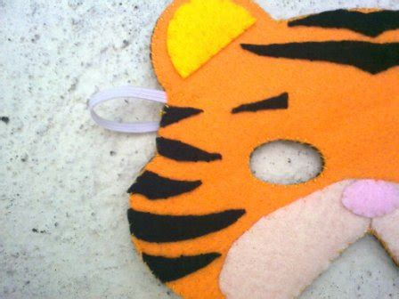 Foam Craft Mask 11 Topeng Pesta Singa aida s creation animal mask