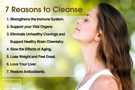 Detox Cleanse Benefits by The Importance Of Cleansing Drjockers