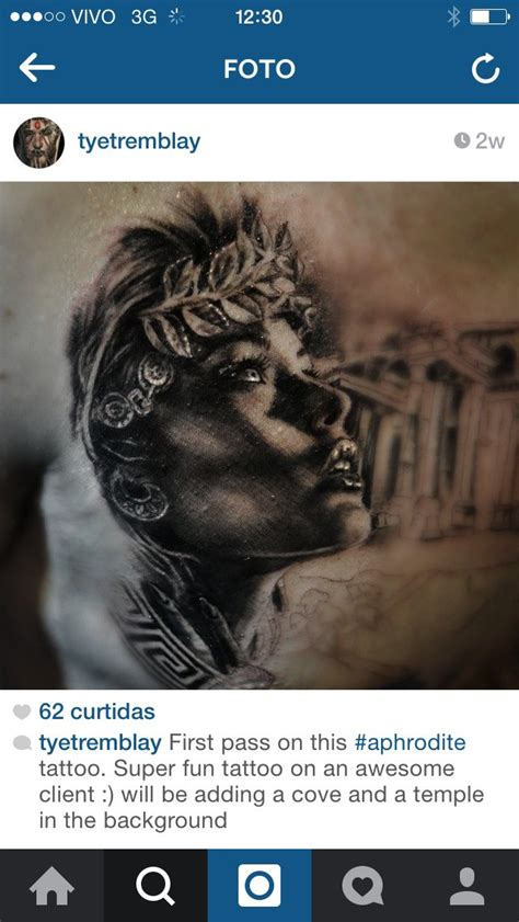 aphrodite tattoo designs aphrodite by tye tremblay tattoos