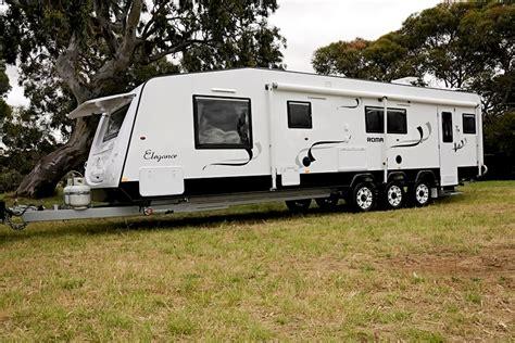 luxury caravans luxury caravans elegance roma caravans melbourne