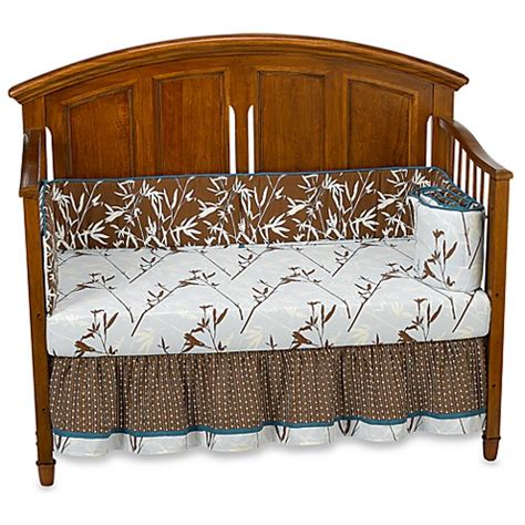 Cocalo Crib Bedding Sets Cocalo Naturals Tranquil 4 Crib Bedding Set Bed Bath Beyond