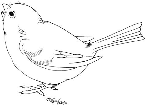 pattern drawing bird cute bird coloring pages free printable pictures